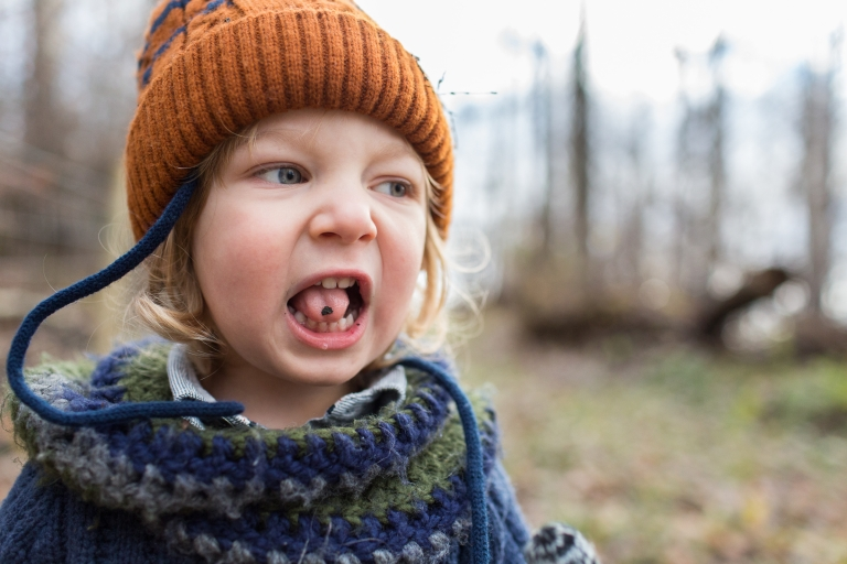 toddler participates in back to school mini sessions hosted by edmonton photographer